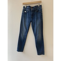 """Mother Denim """"The Muse Ankle"""" Skinny Jeans (28)"""