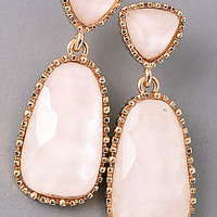 Double Stone Studded Earring