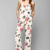 Stone Cold Fox Jerry Jumpsuit- Red Multi M/L