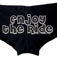 Enjoy The Ride Glow In the Dark Stripper Shorts - Available in All Sizes