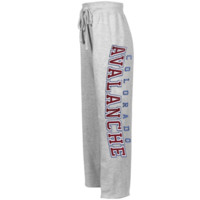 Reebok Colorado Avalanche Youth Girls Hat Trick Sweat Pants - Ash - http://www.shareasale.com/m-pr.cfm?merchantID=7124&userID=1042934&productID=520939831 / Colorado Avalanche
