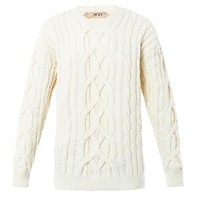 Engineered knit sweater | No. 21 | MATCHESFASHION.COM