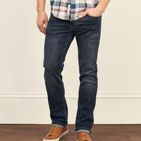 Slim Straight Performance Stretch Jeans
