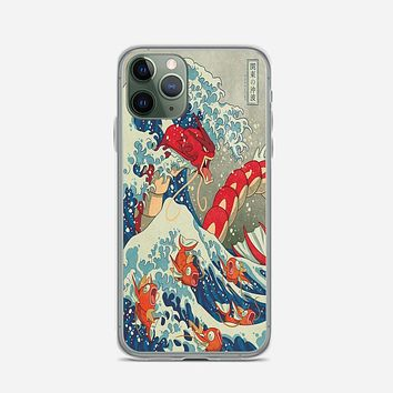 The Great Wave Of Kanto Pokemon iPhone 11 Pro Case