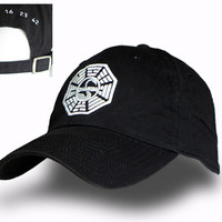 """Dharma Institute """"The Swan"""" cap from the Lost TV series"""