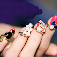 Nail Decoration tail ring