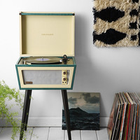 UO X Dansette Sterling Standing Record Player UK Plug - Urban Outfitters