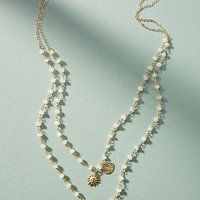 Duo Charm Layered Necklace