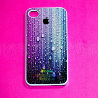 iphone 4 Case,Colorful Raindrop iPhone 4 Cases, Iphone 4s Cover,Case for iPhone 4