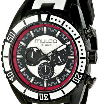MULCO Unisex Titan Wave Analog Quartz Black Watch MW5-1836-028