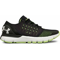 Under Armour UA Speedform Europa Black Lime Mens Running Shoes 1285653-003