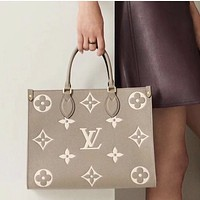 LV Onthego women's large-capacity shopping bag handbag shoulder bag