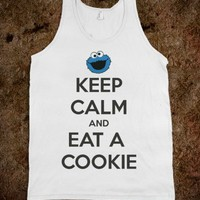 KEEP CALM AND EAT A COOKIE TANK