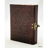 Leather Journal Tree of Life Notebook Travel Diary Notepad Art Sketchbook