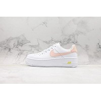 Nike Wmns Air Force 1 Sage Low White/ Pink Sneakers KAAT