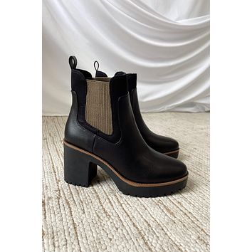 Chinese Laundry Bria Booties - Black