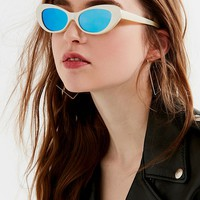 Retro Rounded Cat-Eye Sunglasses | Urban Outfitters Canada
