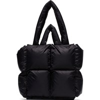 Black Puff Tote Bag by OFF-WHITE