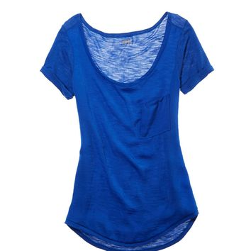 Aerie Chiffon Pocket T-shirt | Aerie for American Eagle