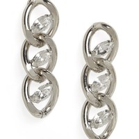 Ice Marquise Link Drops | BaubleBar