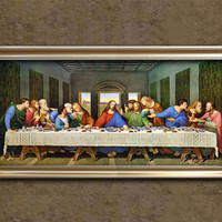 Last Supper Painting on Canvas