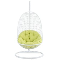 Encounter Swing Outdoor Hanging Patio Fabric Lounge Chair