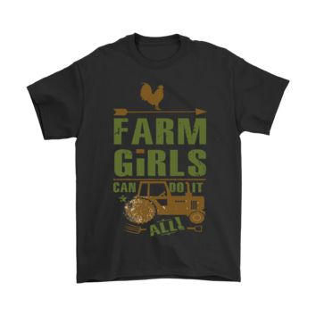 ESBINY Farm Girl Can Do It All Country Life Shirts