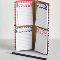 Note Doubt About It Notepad Set by Chronicle Books from ModCloth