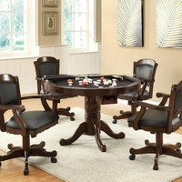 Coaster Furniture TURK GAME TABLE 100872 Dining Chair