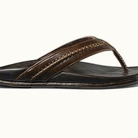 OluKai Men's Hawaiian Comfort Leather Sandals - Mea Ola