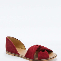 June Red Knot Flats - Urban Outfitters