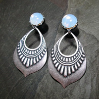 """Dangle Plugs - 00g - 7/16"""" - 1/2"""" - Gothic Plugs - Tribal Plugs - Made to Order"""