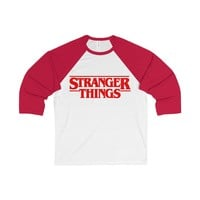 Stranger Things Baseball Tee