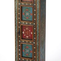 Amir Hand Painted Tall Cabinet