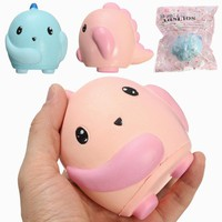 NO NO Squishy Dinosaur Baby 10cm Soft Slow Rising With Packaging Collection Gift Decor Toy