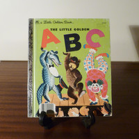 "Vintage 1979 Book ""The Little Golden ABC"" - A little Golden Book / Retro kid's book / Golden Press Library / Learning the Alphabet"