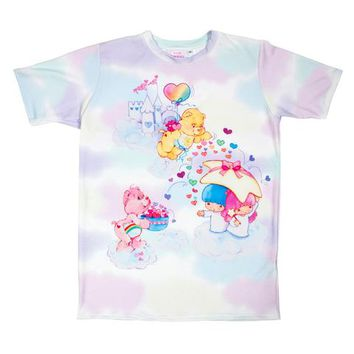 Little Twin Stars x Care Bears Cloudy Dream Unisex Top