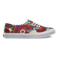 Vans Geo Floral Authentic Slim (magenta/true white)