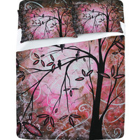 "DENY Designs Home Accessories | Madart Inc. ""Cherry Blossoms"" Sheet Set"