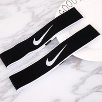 NIKE Sport Yoga Gym Motion Headband Hair Hoop White