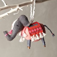 Stitched Nomad Ornament by Anthropologie
