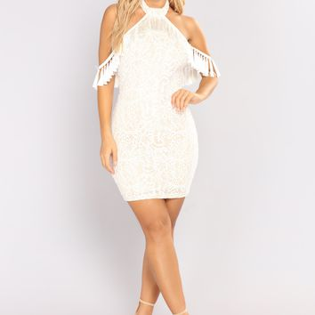 Belong With Me Lace Dress - Ivory