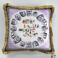 Versace 2018 new street fashion hipster living room sofa pillow F0933-1 #7
