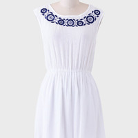 Galicia Embroidered Dress
