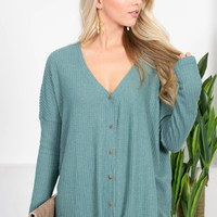 Mountain Springs Button-Up Top   Colors