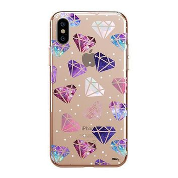 Galatic Diamonds - iPhone Clear Case