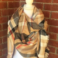 By The Fire Blanket Scarf