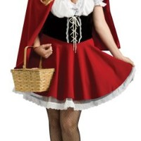 Rubies Women's Plus Size Red Riding Hood Costume | AihaZone Store