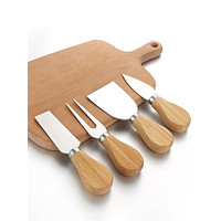 4pcs Stainless Steel Cheese Spatula Set