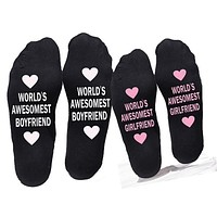 Small Love Gift Ankle Cotton Socks
